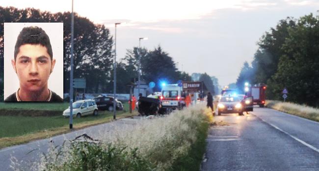 spino d adda tragico incidente stradale perde la vita